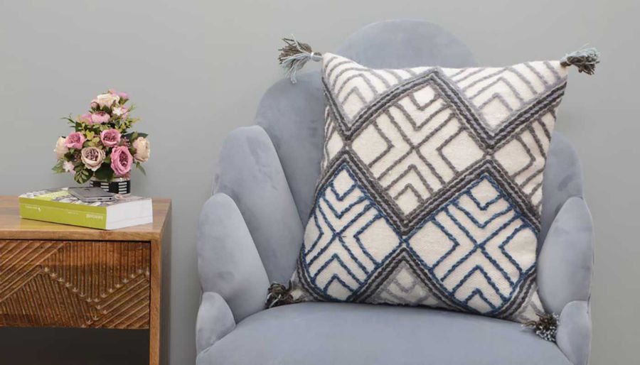 Picture of Ivanna Wool Woven Pillow