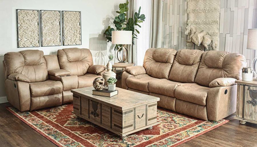 Picture of Avalon Brown Sofa & Loveseat
