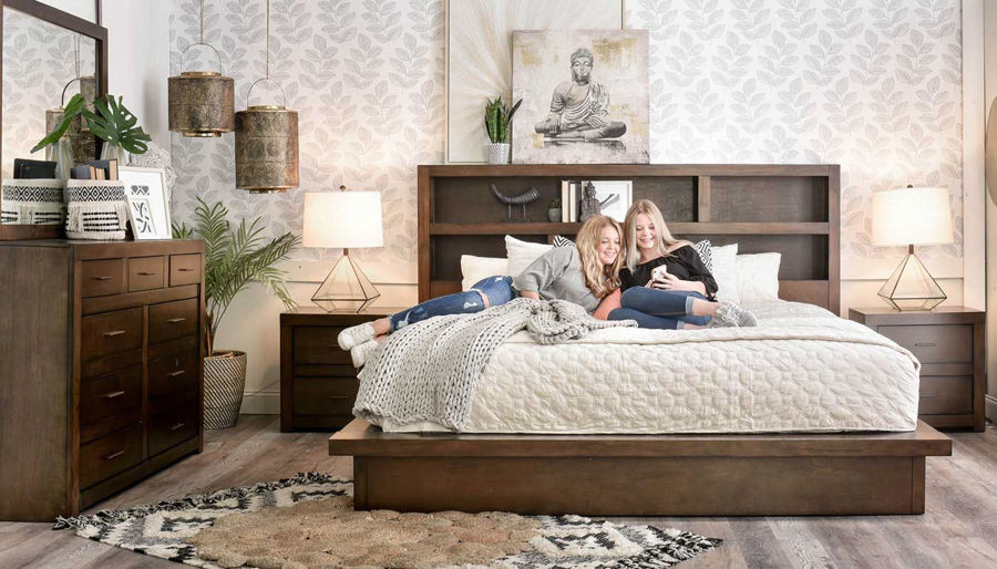 Picture of Telluride King Bed, Dresser, Mirror & Nightstand