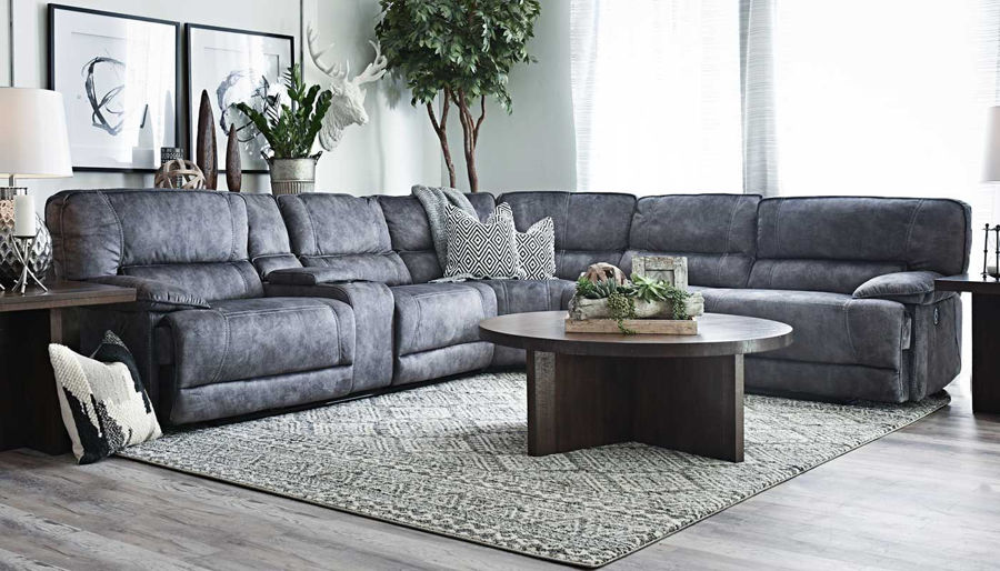 Imagen de Kennedy II Grey Power Sectional