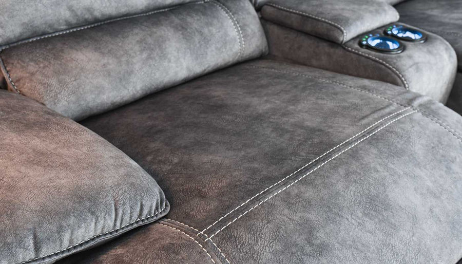 Picture of Kennedy II Sectional Grey