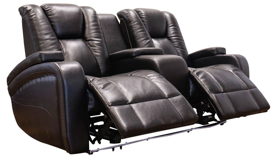 Imagen de Panther Black Power Loveseat