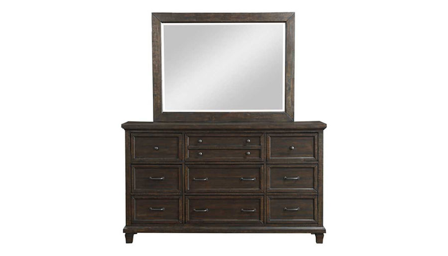 Picture of Cedar Grove King Bed, Dresser & Mirror