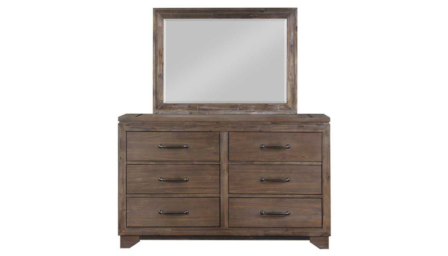 Picture of Natchez Trace King Bed, Dresser & Mirror