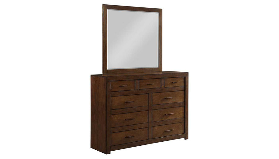 Picture of Telluride King Bed, Dresser & Mirror