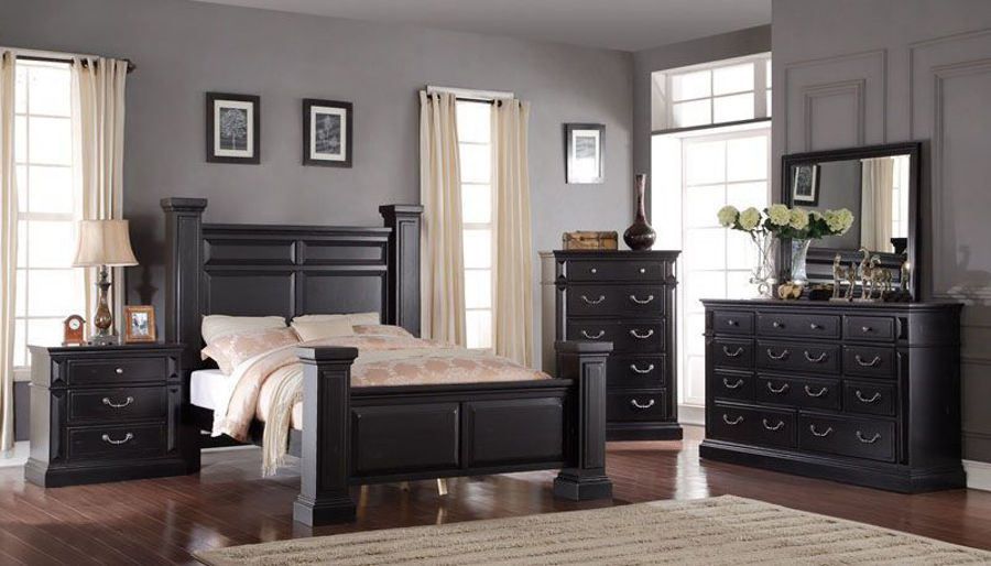 Picture of Tejas Queen Bed, Chesser & Nightstand