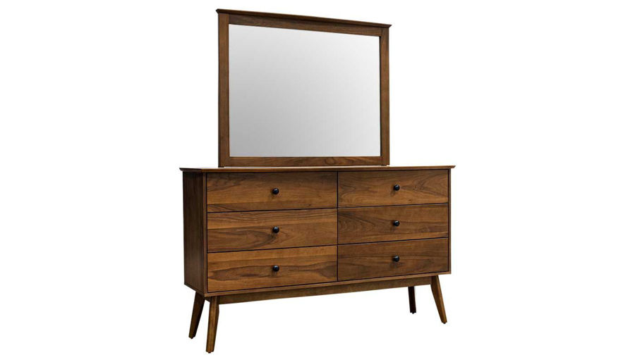 Picture of Allie King Bed, Dresser, Mirror, Nightstand & Chest