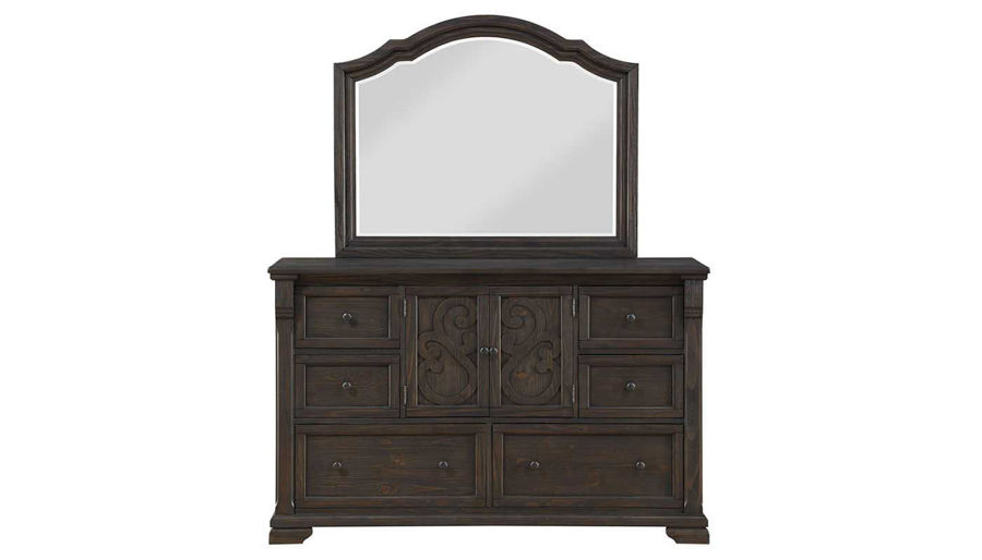 Picture of Amalfi King Bed, Dresser, Mirror, Nightstand & Chest