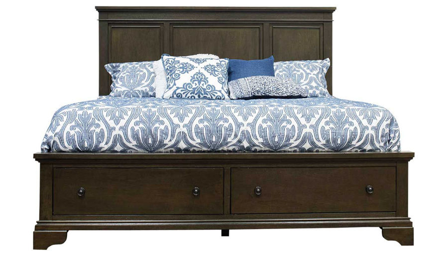 Imagen de Daniel King Bed, Dresser, Mirror, Nightstand & Chest