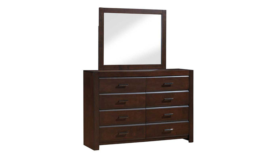 Picture of Nickolas Full Bed, Dresser, Mirror, Nightstand & Chest