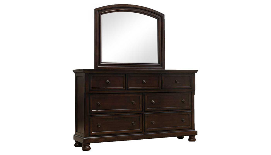Picture of Oregon King Bed, Dresser, Mirror, Nightstand & Chest