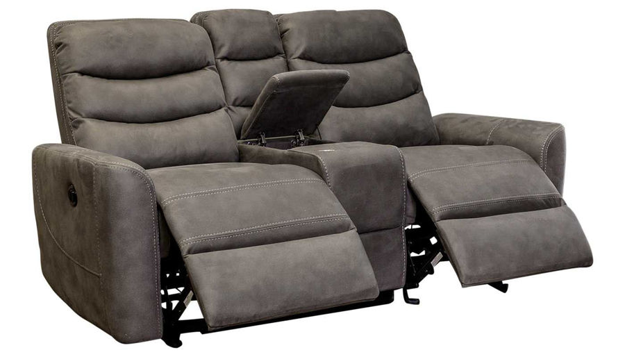 Picture of Forte Grey Power Loveseat