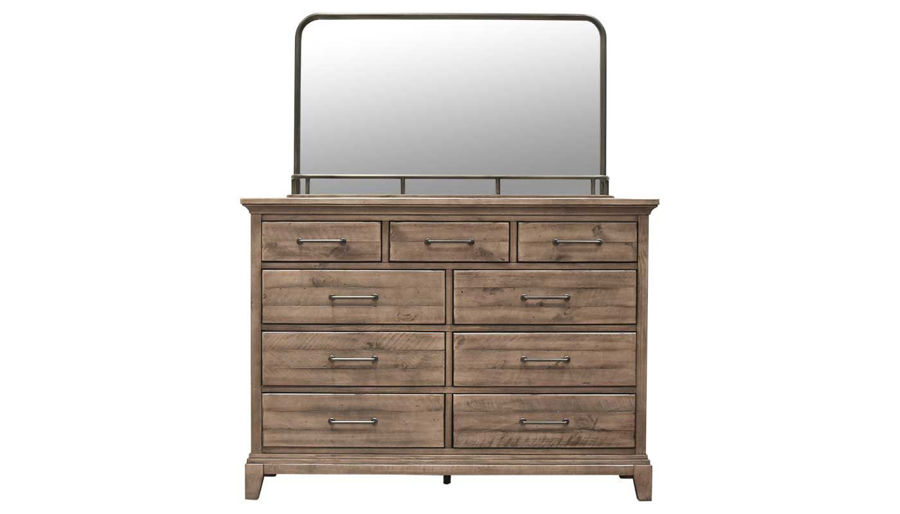 Picture of Deana Queen Bed, Dresser & Mirror