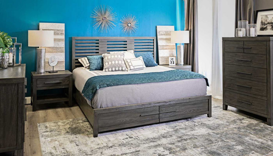 Picture of Accolade Full Bed, Dresser, Mirror & Nightstand