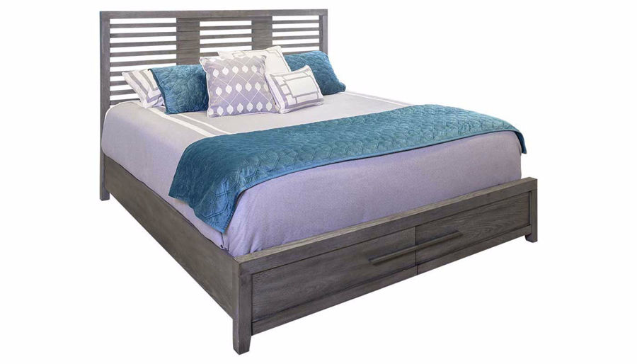 Picture of Accolade King Bed, Dresser, Mirror & 2 Nightstands