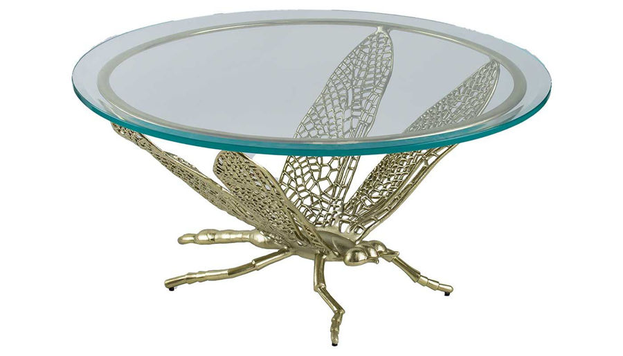 Imagen de HZ Gold Dragonfly Coffee Table