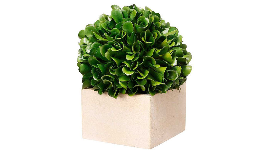 Picture of HZ Faux Boxwood Topiary Petit