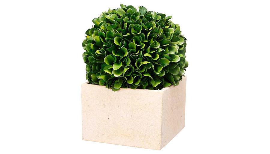 Picture of HZ Faux Boxwood Topiary Med