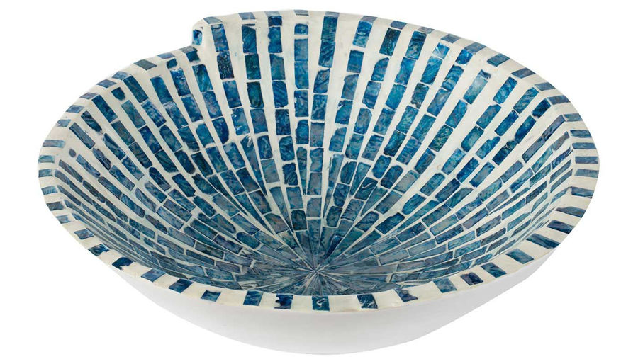 Picture of HZ Blue & White Bowl Dec