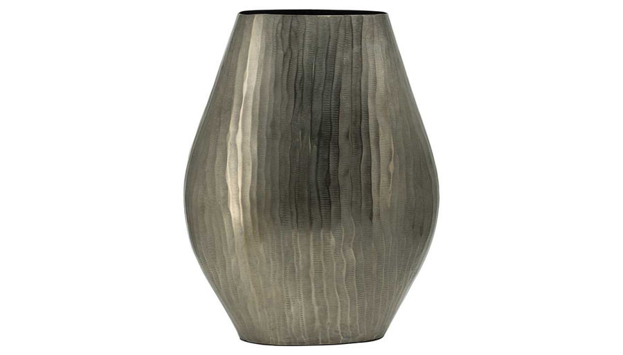 Picture of HZ Alum Lyrd Chisel Oval Vase