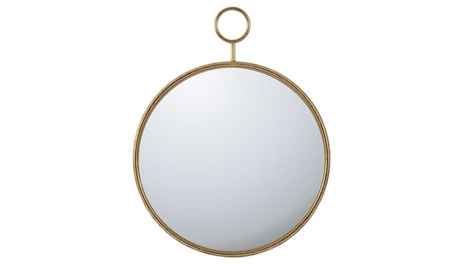 Picture of HZ Gold-Framed Wall Mirror Large