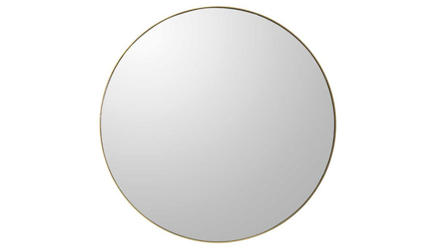 Picture of HZ Round Wall Mirror Gold Frme