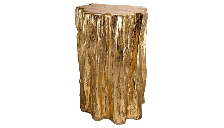 Imagen de HZ Golden Tree Trunk Stool