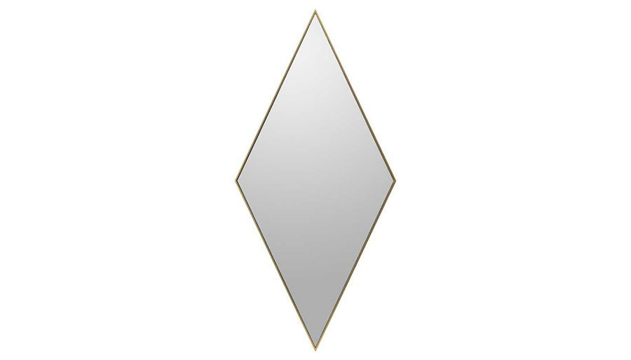 Picture of HZ Diamond Wall Mirror Gold Frm