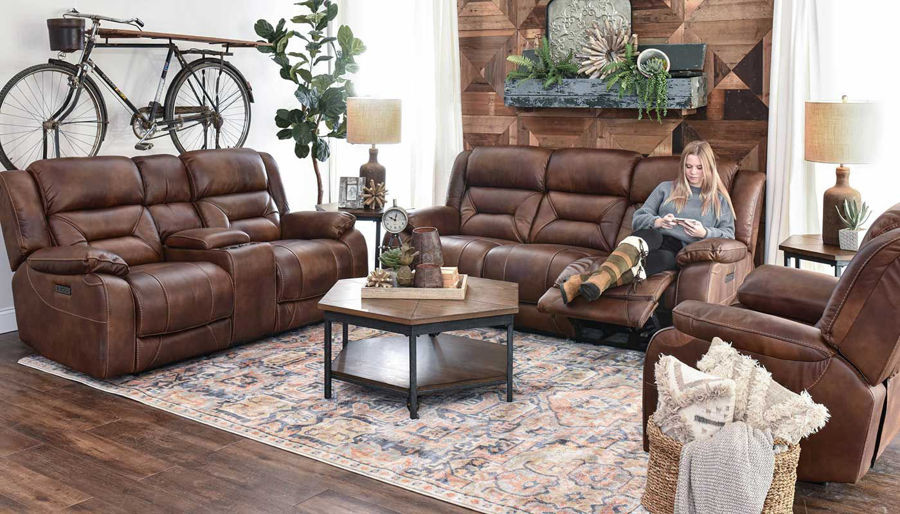 Picture of Home Run Power Sofa & Loveseat