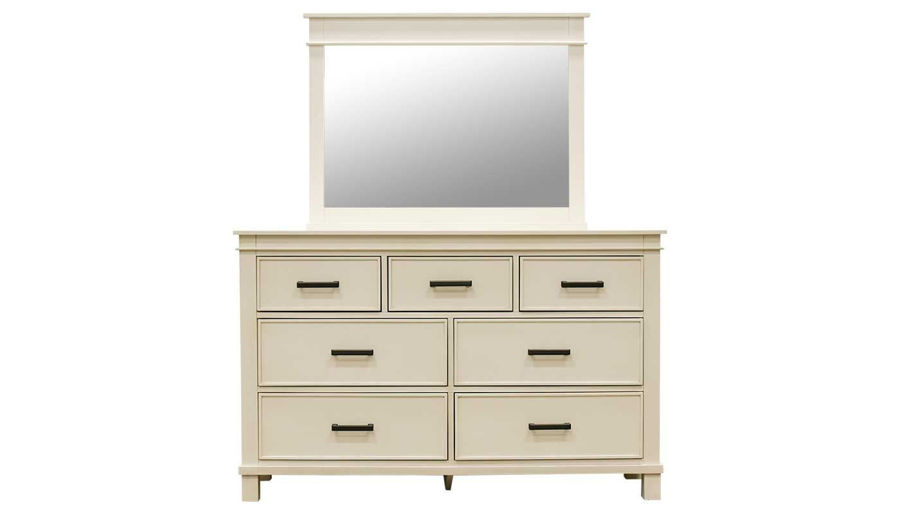Picture of Hempstead Queen Bed, Dresser, Mirror & 2 Nightstands