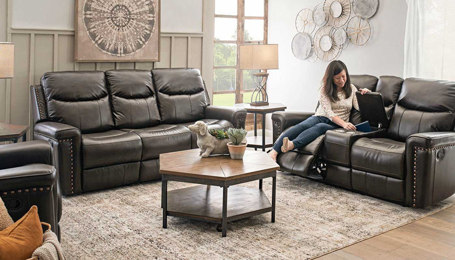 Picture of Quinn III Motion Sofa & Love