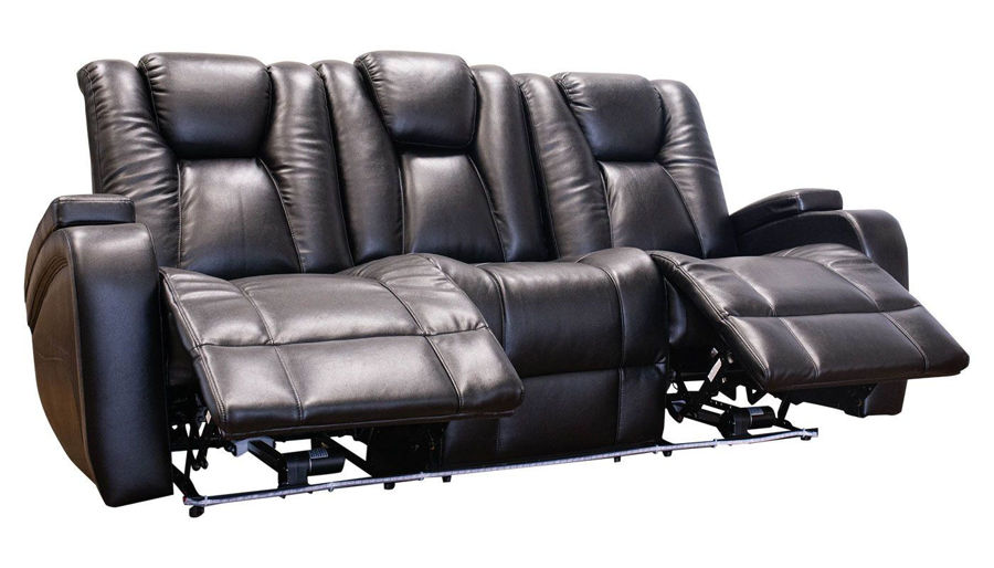 Picture of Panther Black Power Sofa