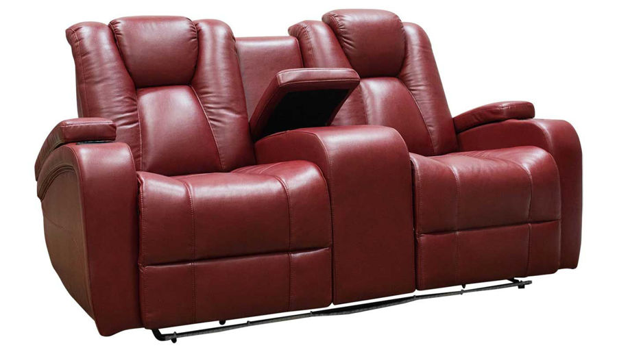 Picture of Panther Red Power Loveseat