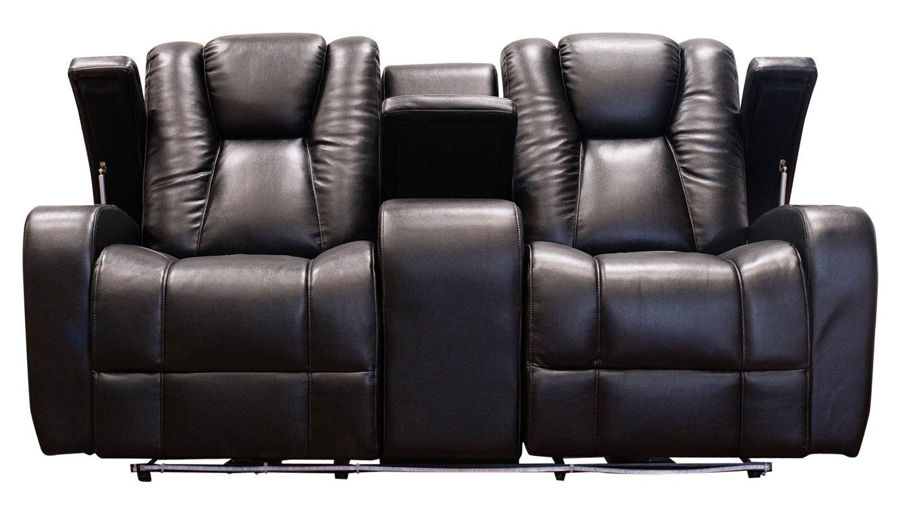 Picture of Panther Black Power Loveseat