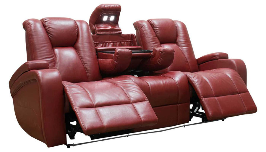Picture of Panther Red Power Sofa