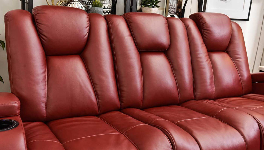 Picture of Panther Red Power Sofa, Loveseat & Recliner