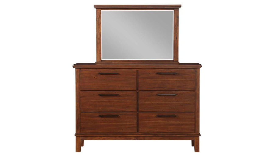 Picture of Latham 7 Piece Queen Bed, Dresser, Mirror & 2 Nigh