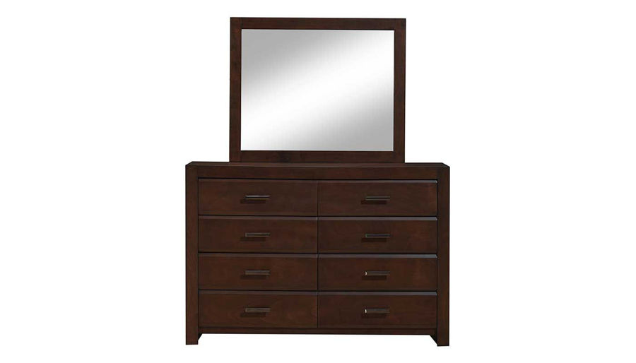 Picture of Nickolas 5 Piece Full Bed, Dresser & Mirror