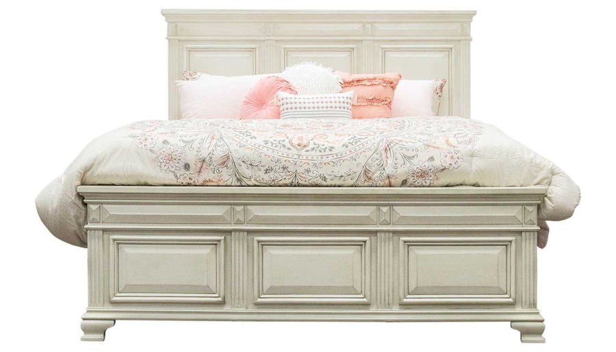 Imagen de Calloway II Queen Bed, Dresser, Mirror, Nightstand & Chest