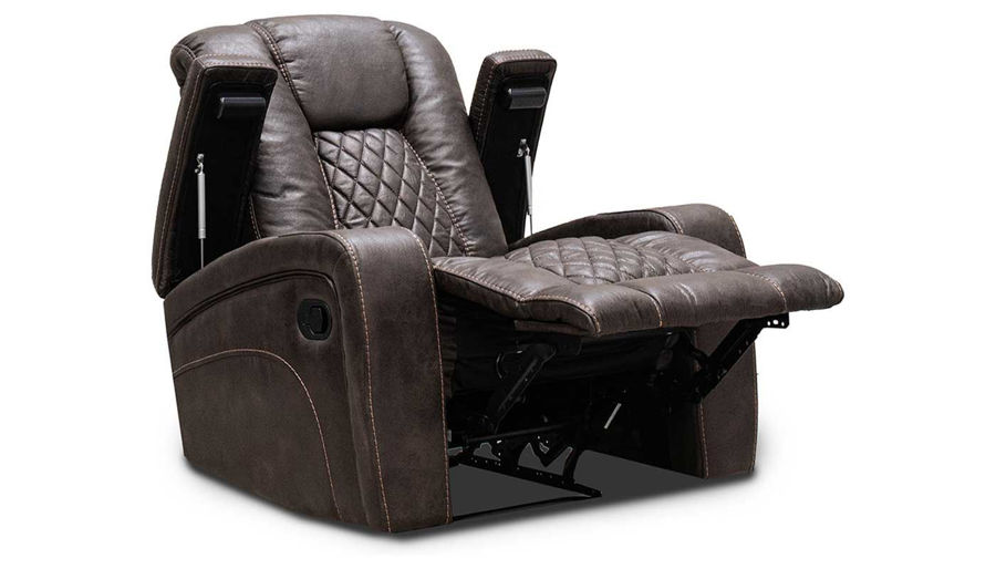 Picture of Grand Cayman Brown Recliner