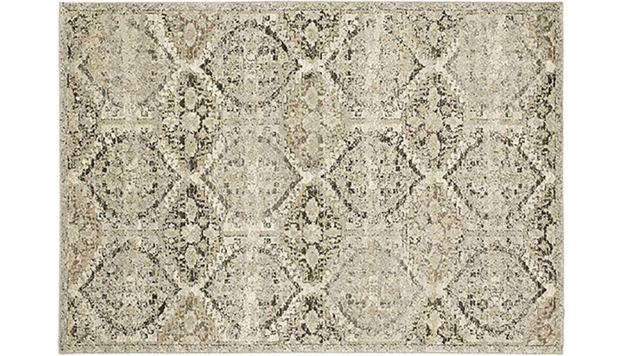 Picture of Florence Ivory & Grey Ogee Rug 8X11