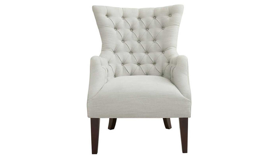 Picture of Hannah Button Tufted Wing Chair