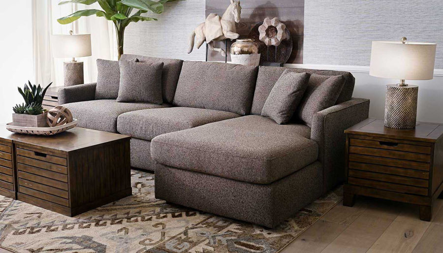 Picture of Brock Sectional With Chaise