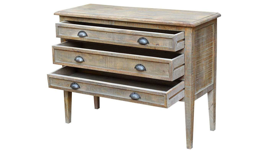 Picture of Kant 3 Drawer Chest With Peg Legs