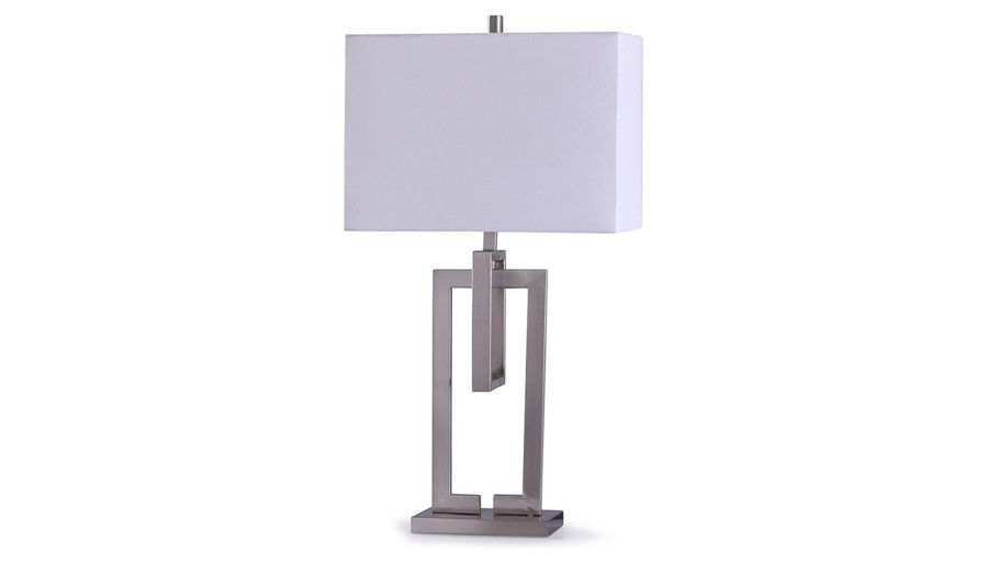 Picture of Brushed Nickel Lamp Set of 2