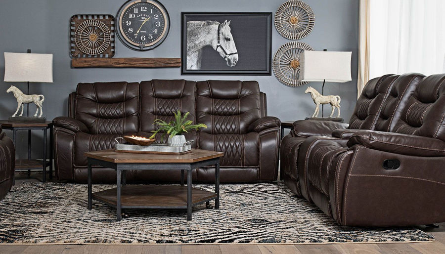 Picture of Romeo Sofa, Loveseat & Recliner