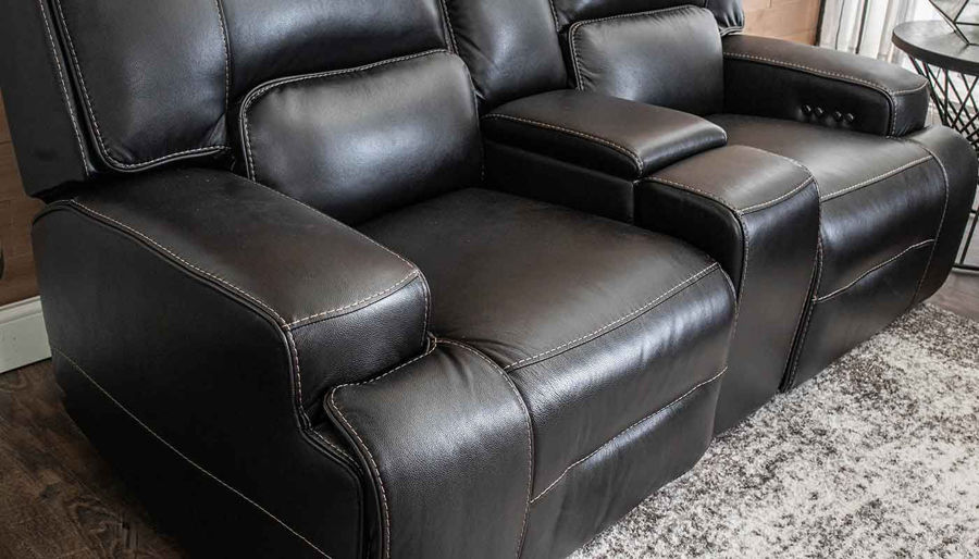 Picture of Lake Como Blackberry Power Sofa, Loveseat & Recliner