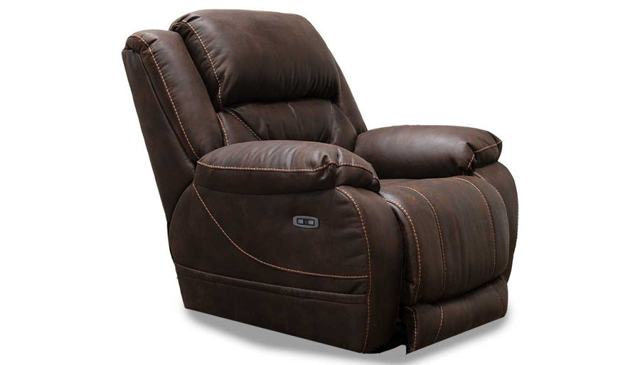 Imagen de Houston Chocolate Power Recliner