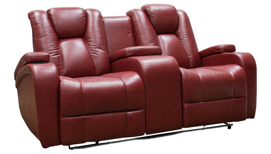Picture of Panther 2 Red Power Loveseat
