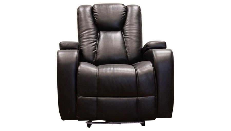 Picture of Panther 2 Black Power Recliner